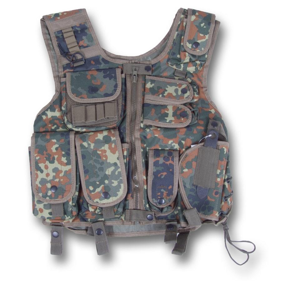 Commando Swat I Weste flecktarn