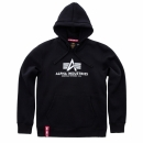 Alpha Basic Hoody black