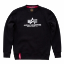 Alpha Basic Sweater black