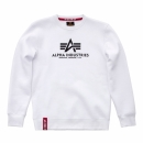Alpha Basic Sweater white