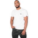 Alpha Basic T Small Logo white