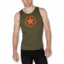 Alpha Star Tank dark green