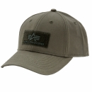 Alpha Velcro Cap dark green
