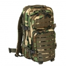 Assault Pack woodland klein
