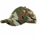 Baseball Cap stretch woodland