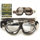 Fliegerbrille Royal Air Force chrom