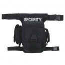 "Hip Bag, ""SECURITY"", schwarz, Bein- und..."
