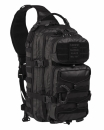 One Strap Assault Pack Tactical schwarz groß
