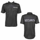 Security Polo Strech schwarz
