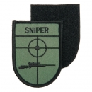 Sniper Patch mit Klett