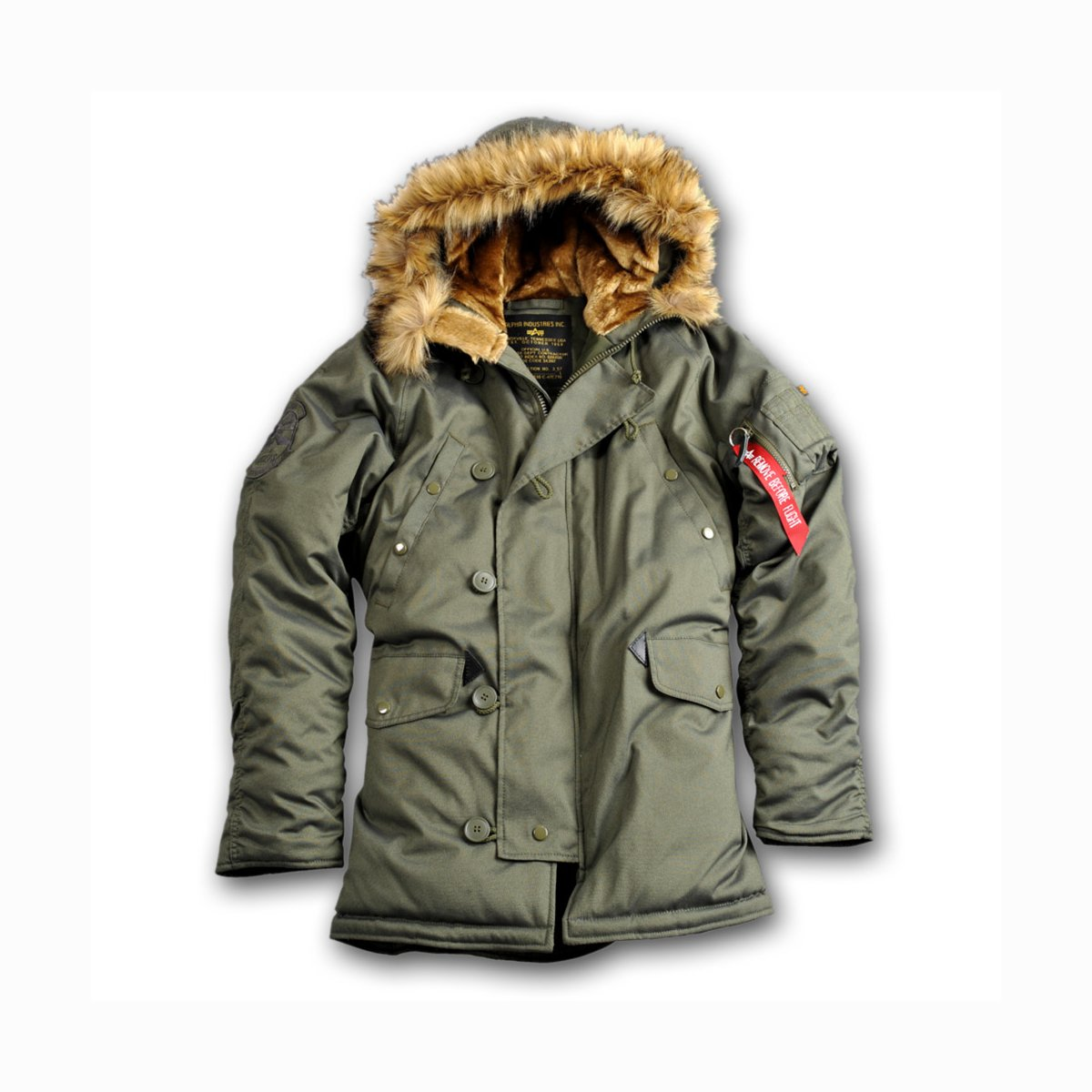 Alpha Fliegerparka Explorer dark green Armyshop Hoenig Ihr