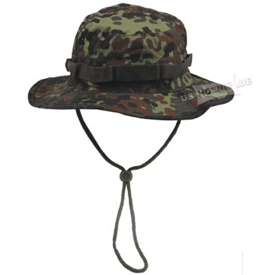 US Boonie Hat flecktarn Import