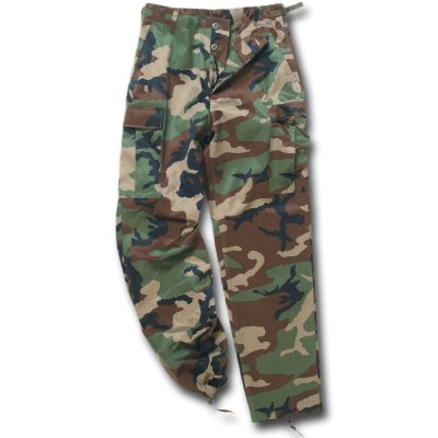 US Army BDU Hose Import woodland