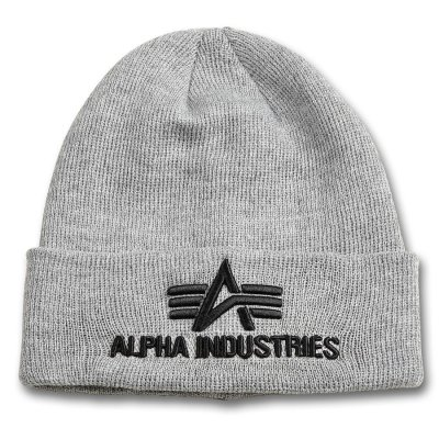 Alpha 3D Beanie grey heather