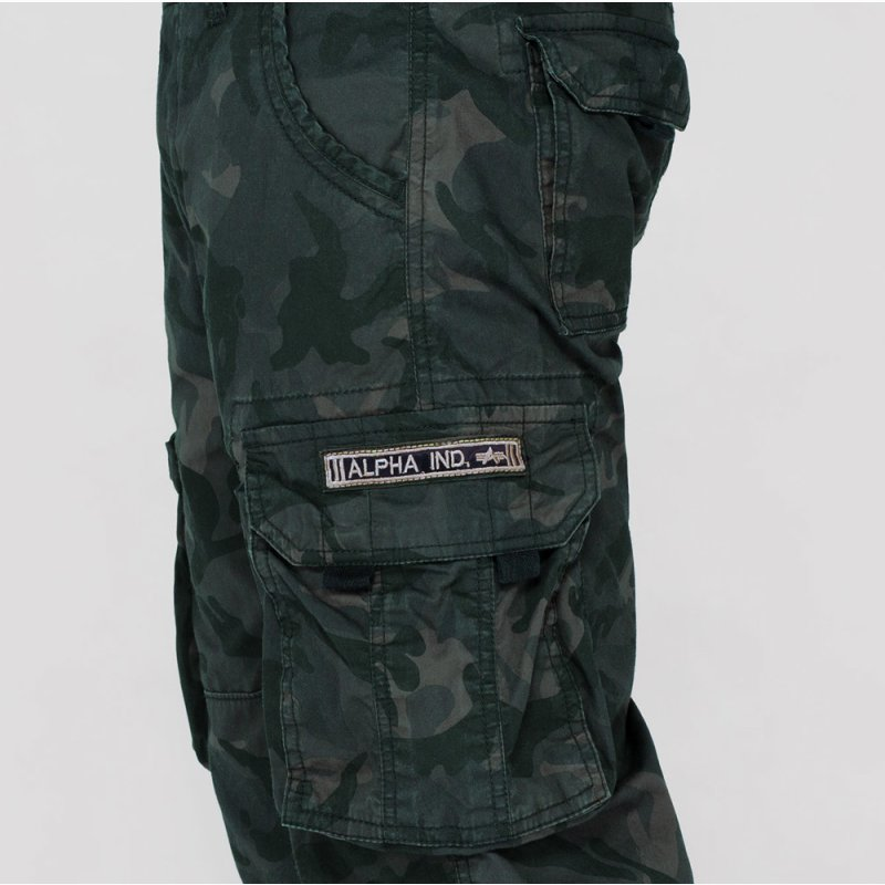 Alpha Jet Short black camo
