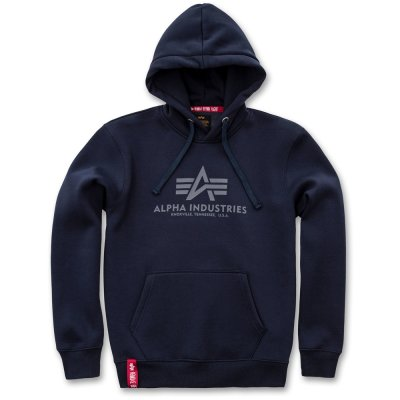 Alpha Basic Hoody replika blue