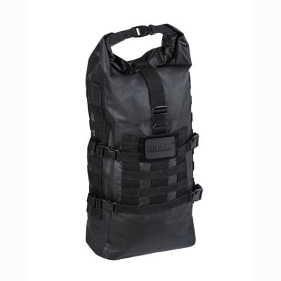 Tactical Backpack Seals Dry-Bag schwarz