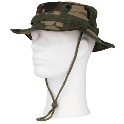 US Boonie Hat woodland Import
